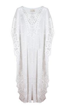 Azzora vit klänning