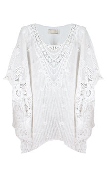 Azzora tunic white