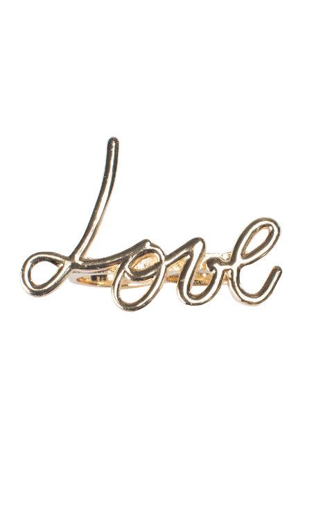 Love Ring Guld