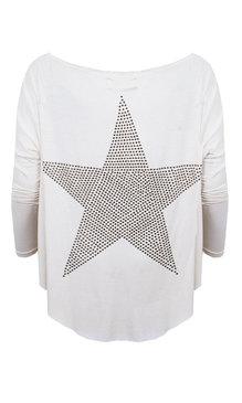 T-Shirt Stjärna Creme