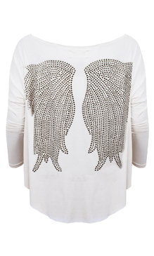 T-Shirt Wings Creme