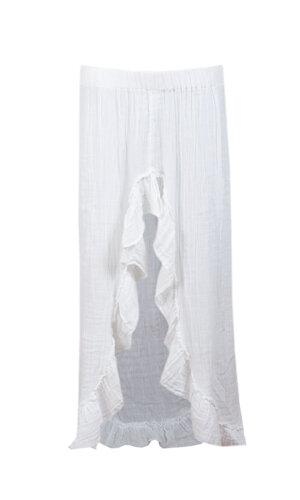 Lou Lou white skirt