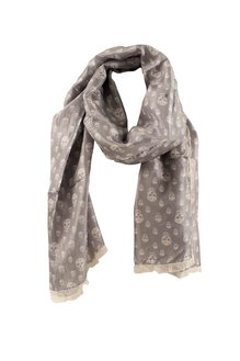 Skullsilk light grey