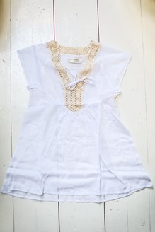 Ebba dress white