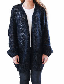Savannah cardigan Svart