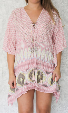 Holly tunic pink