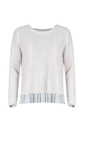 Clu top light grey